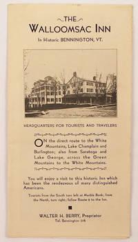 The Walloomsac Inn in Historic Bennington, VT