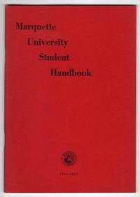 Marquette University Student Handbook 1961-1962