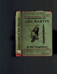 image of Comments of Abe Martin and His Neighbors