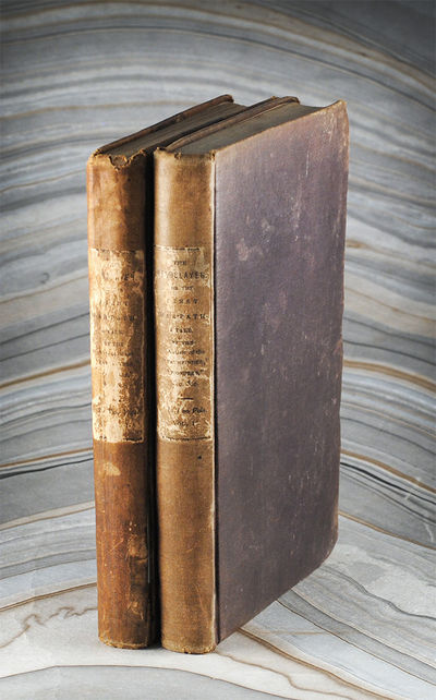 2 vols. Philadelphia: Lea & Blanchard, 1841. 2 vols., xi, 267 pp., 282 pp. Original purple muslin bo...