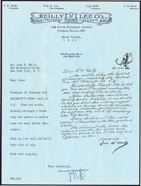 LETTER FROM NEILL TO REILLY & LEE WITH RESPONSE