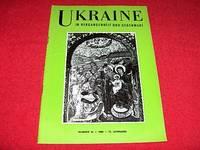 Ukraine in Vergangengeit Und Gegenwart [Number 34, 1966]