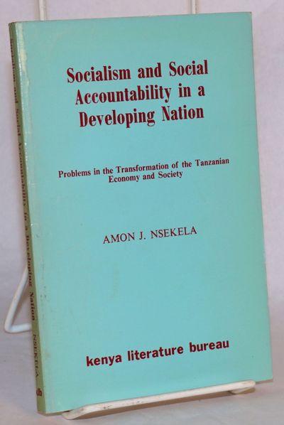 Nairobi: Kenya Literature Bureau, 1978. Paperback. x, 179p., first edition 7.2x4.8 inch coated turqu...