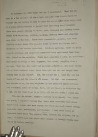 Manuscript of Ordnance Expert Who Rose from Private to Captain By the End of World War II