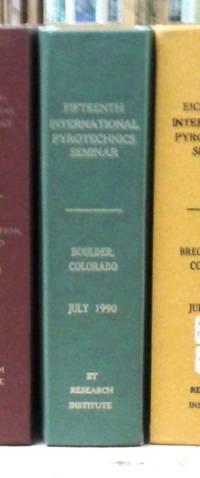 image of Fifteenth International Pyrotechnics Seminar Boulder, Colorado 9-13 July  1990