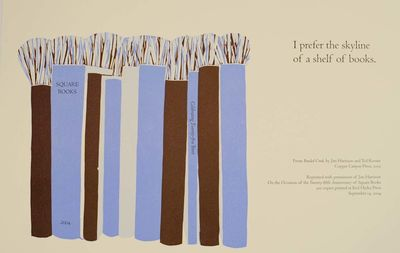 Oxford, MS: Square Books, 2004. First edition. Attractive broadside from his poetry collection Braid...