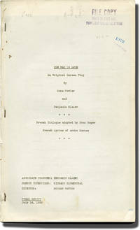 image of The Way to Love (Original screenplay for the 1933 film)