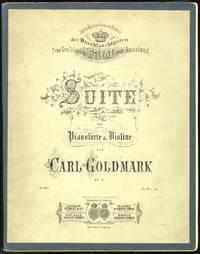 Suite für Pianoforte & Violine ... Op. 11 Ihrer Kaiserlichen Hoheit der Durchlauchtigsten Frau Grofsfürstin Helene von Russland ... Pr. M 6, 25. [Score and part].