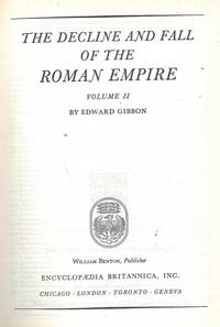 image of The decline and fall of the Roman Empire. Volume II.