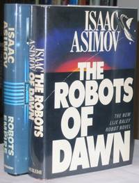 image of The Robots of Dawn (& the sequel) Robots and Empire   -(two hard covers with dust jackets)-