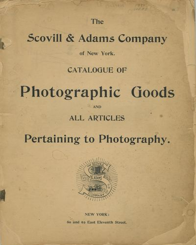 New York: Scovill & Adams Company, 1895. 4., 58 pp., illustrated from engravings. Lacking the wrappe...