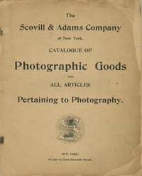 CATALOGUE OF PHOTOGRAPHIC GOODS AND ALL ARTICLES PERTAINING TO PHOTOGRAPHY