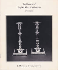 Two Centuries of English Silver Candlesticks, 1700-1900. October 7 through 31, 1986