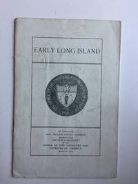 Early Long Island,  An Address by Hon. William Winton Goodrich, March 16, 1904