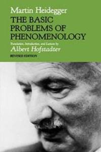 image of The Basic Problems of Phenomenology (Studies in Phenomenology and Existential Philosophy)