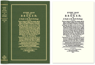 2009. ISBN-13: 9781584779315 ISBN-10: 1584779314. How to Be Your Own Broker Mortimer, Thomas. Every ...