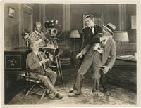 Original photograph of comedian Charley Chase choking director Leo McCarey, circa 1925
