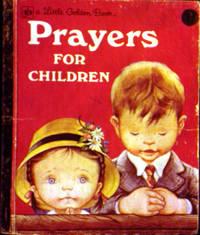A Little Golden Book Prayers FOR CHILDREN