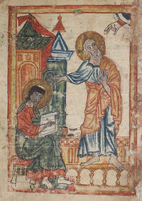 Tetraevangelion (The Four Gospels) in Armenian. Manuscript on polished paper. Written and illuminated by Izit the Monk in the Monastery of Narek, South of Lake Van.