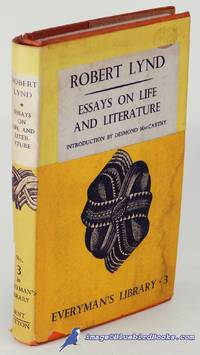 Essays on Life and Literature (Everyman's Library #990)