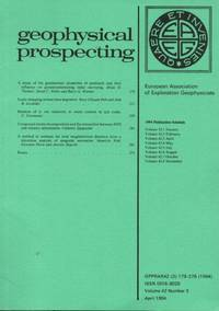 Geophysical Prospecting Volume 42 Number 3 April 1994 by  D.W. (Editor) March - Paperback - 1994 - from Clausen Books, RMABA and Biblio.com