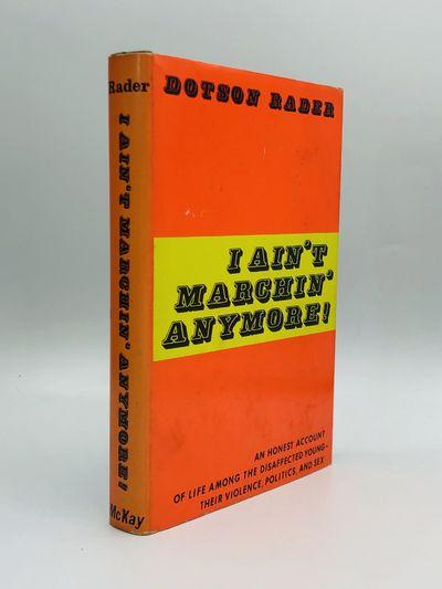 New York: David McKay Company, Inc, 1969. First Edition. Hardcover. Very good/Very good. Presentatio...