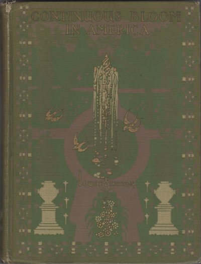New York: Charles Scribner's Sons, 1916. Second printing. Gold and pink decorations on green cloth. ...