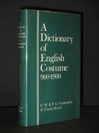 A Dictionary of English Costume 900-1900