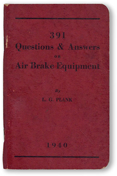 Hollidaysburg, PA: L.G. Plank, 1940. First Edition. 12mo (14.5cm.); publisher's maroon staplebound c...