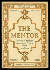 image of THE MENTOR - MAKERS OF MODERN AMERICAN POETRY - Women - June 15 1920 - Serial Number 205 - Volume 8, number 9