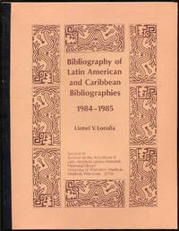 Bibliography of Latin American and Caribbean Bibliographies 1984-1985