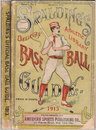 New York: American Sports Publishing Co, 1913. Paperback. Very good. Approximately 4.25