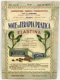 [ITALIAN] [PHARMACEUTICAL] Note Di Terapia Pratica