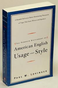 image of The Penguin Dictionary of American Usage and Style: A Readable Reference  Book, Illuminating Thousands of Traps That Snare Writers and Speakers