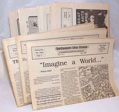 Sacramento: Sacramento Peace Center, 1991. Newspaper. 8 issues of the newspaper. Issues present are ...
