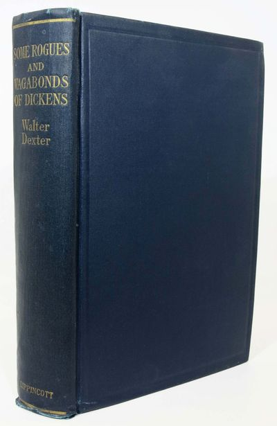 Philadelphia: Lippincott, 1927. Original publisher's dark blue cloth binding with gilt stamped lette...