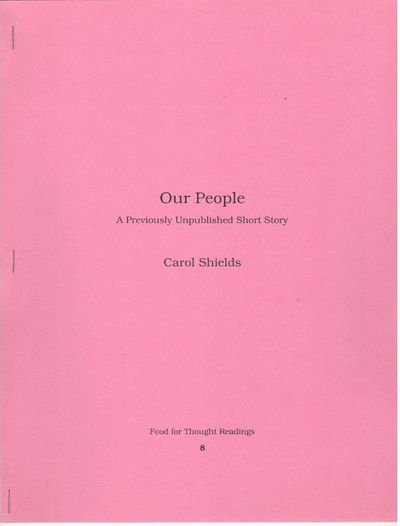 Our People.  A Previously Unpublished...