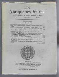 The Antiquaries Journal, Being the Journal of The Society of Antiquaries of London, Volume XLVI, 1966, Part II