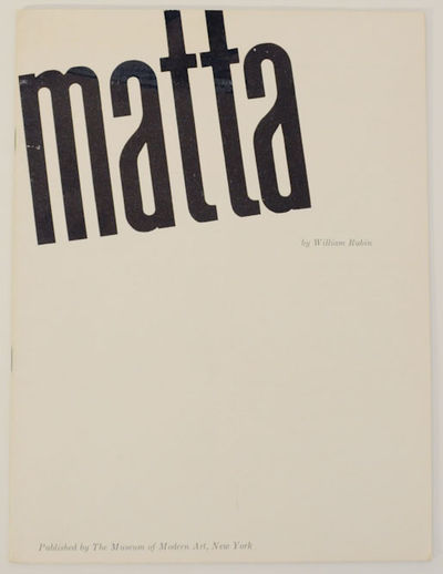 New York: The Museum of Modern Art, 1957. First edition. Softcover. 36 pages. Exhibition catalog for...