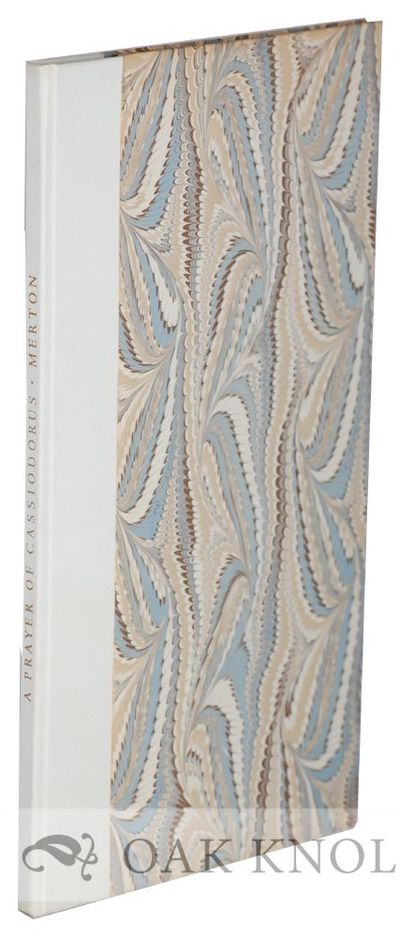 Worcester: Stanbrook Abbey Press, 1967. quarter parchment over marbled paper-covered boards. Stanbro...