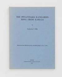 The Pitjantjara Kangaroo Song from Karlga. [Reprinted from] Miscellanea Musicologica. Adelaide Studies in Musicology, Volume 2, 1967