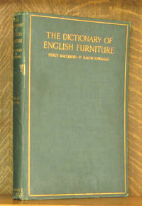 image of THE DICTIONARY OF ENGLISH FURNITURE - VOL. 2 C-M  (INCOMPLETE SET)