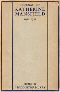 image of JOURNAL OF KATHERINE MANSFIELD.