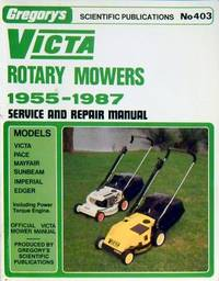 victa rotary mowers 1955 1987 second hand books rh biblio co uk Weed Eater Push Mower Manual Murray Lawn Mowers Manuals