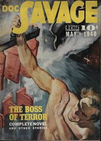 "DOC SAVAGE: May 1940 (""The Boss of Terror"")"