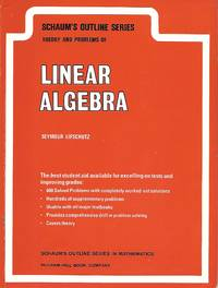 image of Linear Algebra Theory and Problems