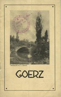 GOERZ.; [cover title]