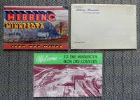 image of [TWO MINNESOTA MINING RELATED ITEMS].  1. HIBBING MINNESOTA AND THE IRON ORE MINES.  2. WELCOME - TO THE MINNESOTA IRON ORE COUNTRY.