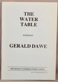 The Water Table: Poems.