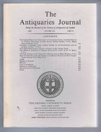 The Antiquaries Journal, Being the Journal of The Society of Antiquaries of London, Volume LXI, 1981, Part II